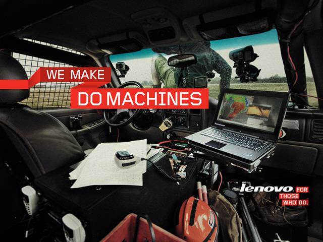 Lenovo for those who do adventure travells with rally cars.