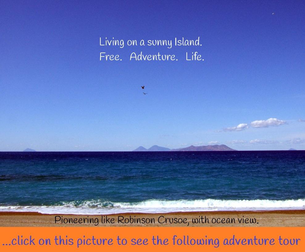 living on a sunny island...
